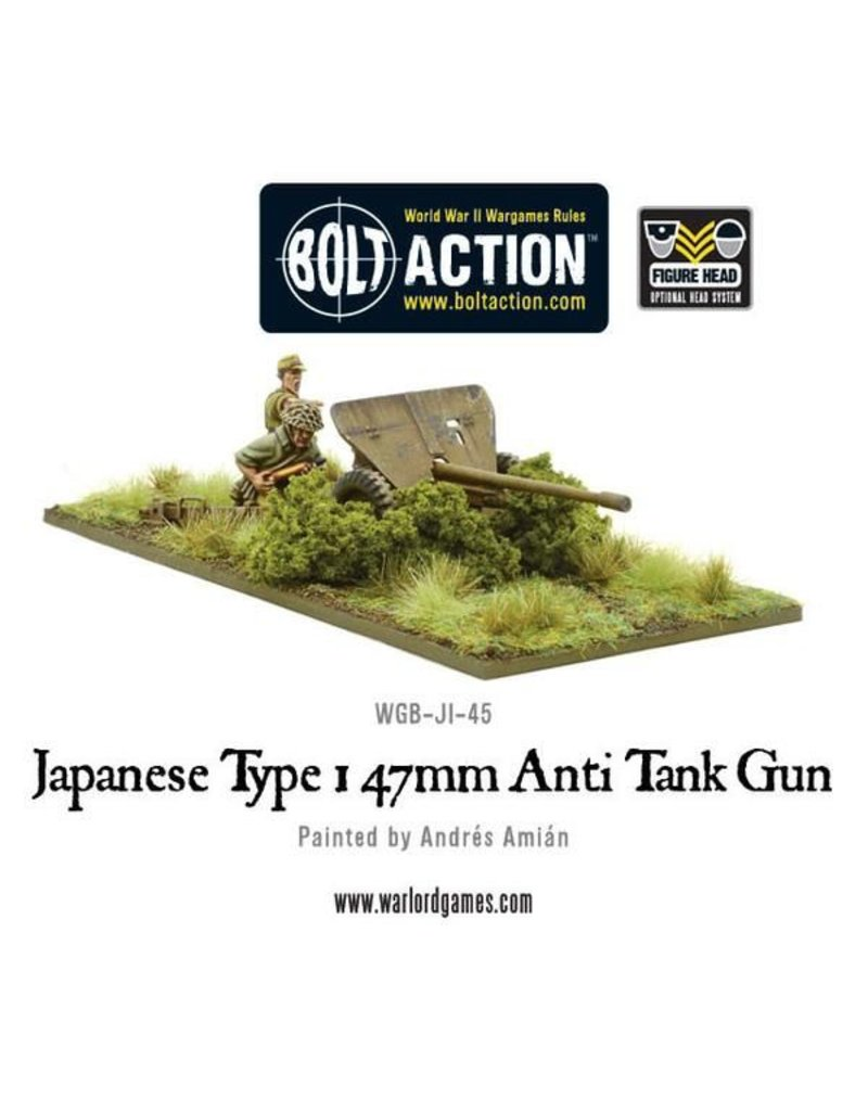 Warlord Games Imperial Japanese Type 1 47mm Anti Tank Gun