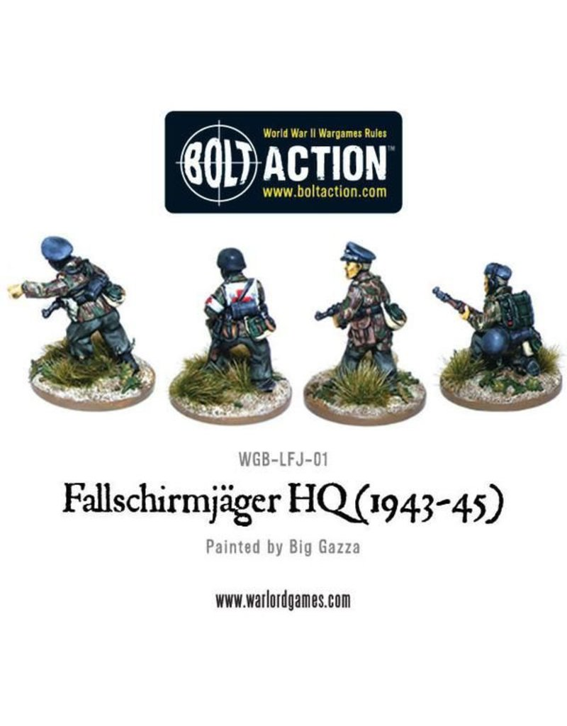 Warlord Games Fallschirmjager Command
