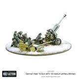 Warlord Games German Heer 10.5cm leFH 18 medium artillery (Winter)