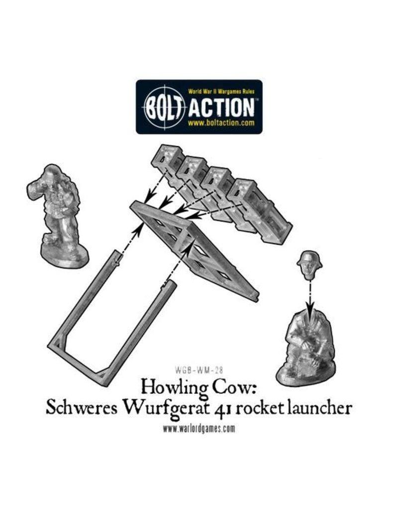 Warlord Games German Heer Howling Cow Rocket Launcher