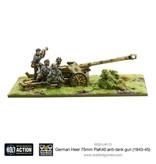 Warlord Games German Heer 75mm PaK 40 Anti-tank Gun