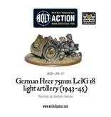 Warlord Games German Heer 75mm LEiG 18 Artillery