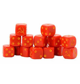 Warlord Games Soviet D6 Dice
