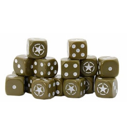 Warlord Games Allied Star D6 Dice