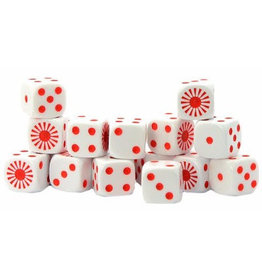 Warlord Games Japanese D6 Dice