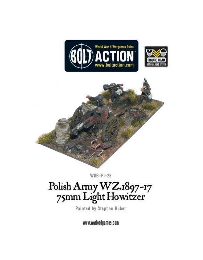 Warlord Games Polish Army 75mm Light Artillery