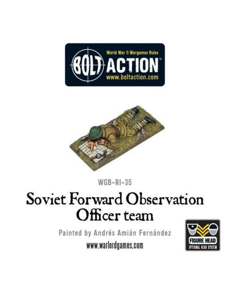 Warlord Games Soviet Forward Observer Officers (FOO)