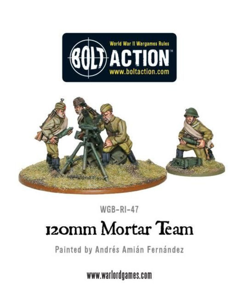 Warlord Games Soviet 120mm Mortar