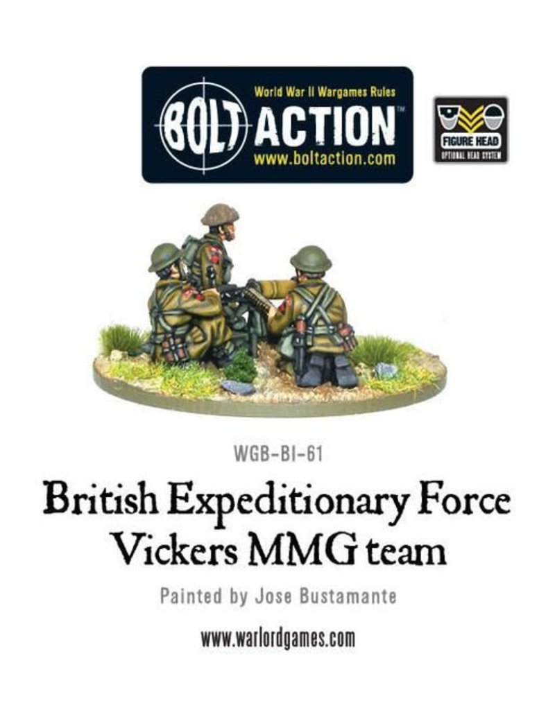 Warlord Games Early War Vickers MMG Team