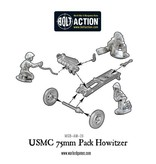 Warlord Games US Army Marine Corps 75mm pack howitzer light artillery