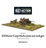 Warlord Games US Army Marine Corps M3A1 37mm anti-tank gun