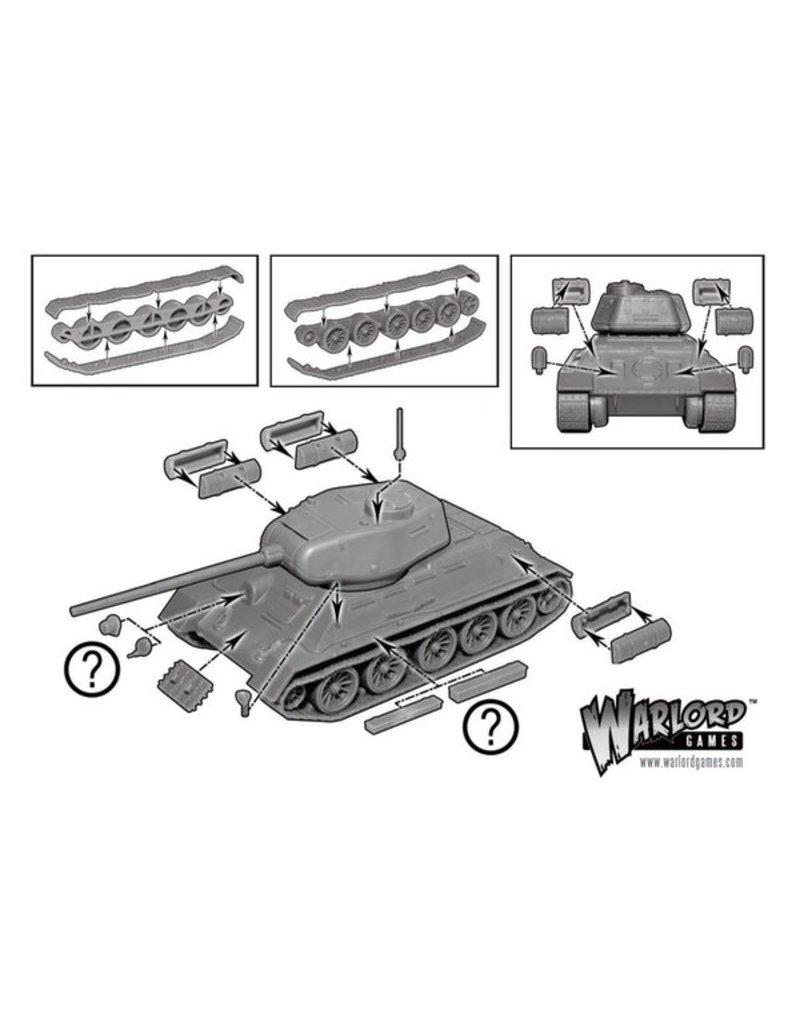 Warlord Games Soviet T34/85 Medium Tank