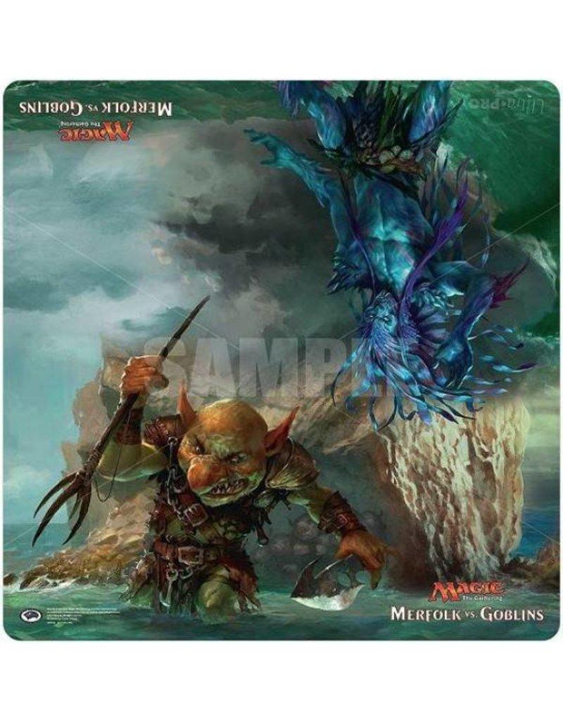 Wizards of the Coast Magic The Gathering: Merfolk Vs Goblins 24x24 Play Mat
