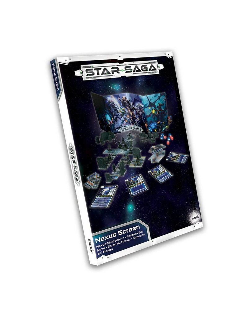 Mantic Games Star Saga GM Nexus Screen
