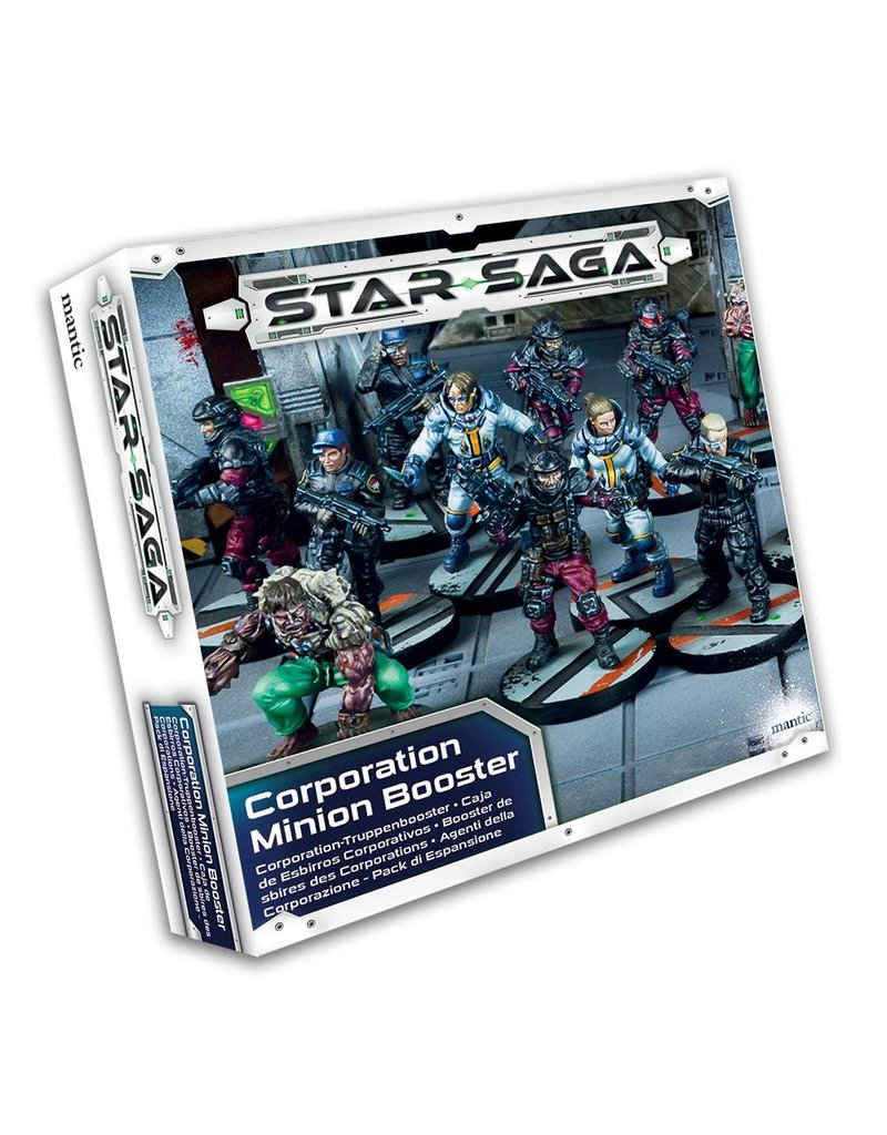 Mantic Games Star Saga Corporation Minion Booster