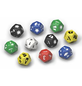 Modiphius Entertainment Wasteland Warfare: Extra Dice Set