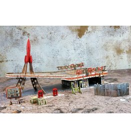 Modiphius Entertainment Wasteland Warfare - Red Rocket Scenic Set