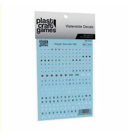 Plastcraft Aleph Decals V2