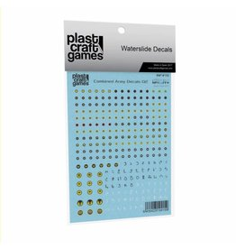 Plastcraft Combined Army Decals V2