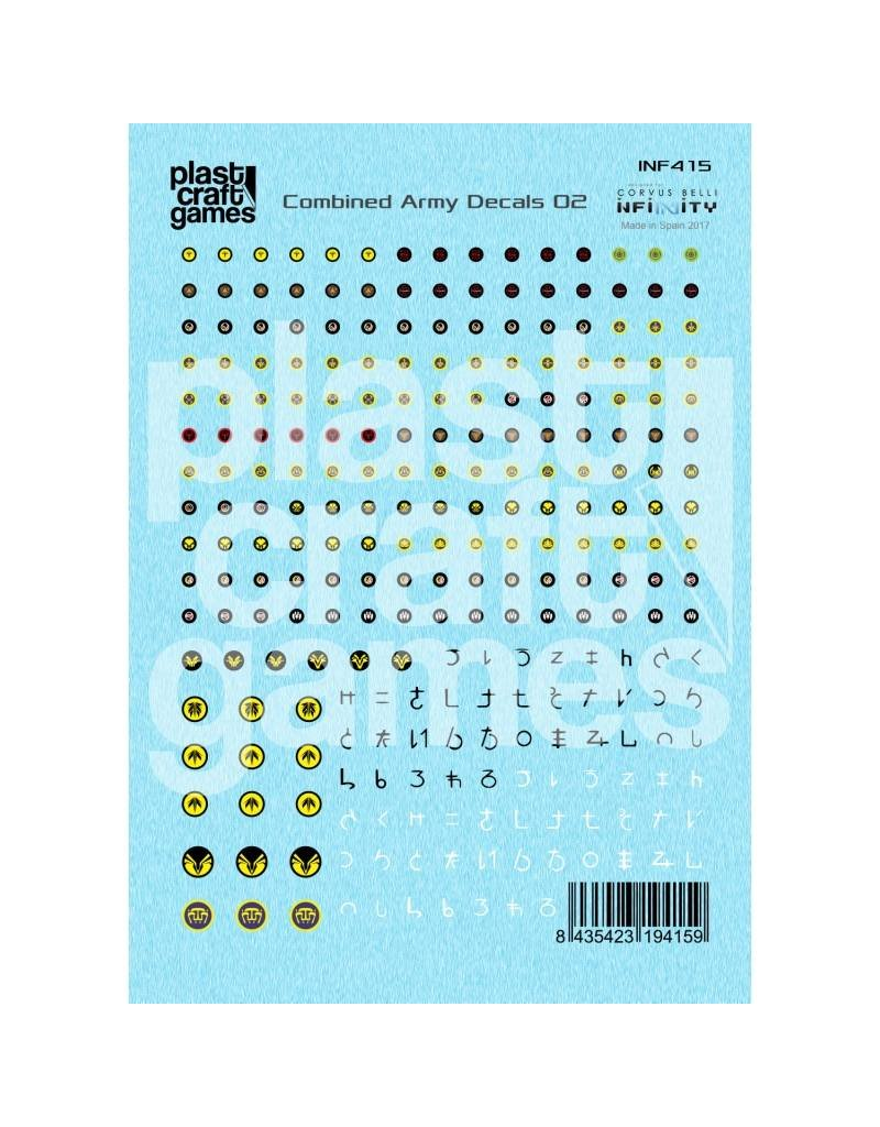 Plastcraft Infinity Decals - Combined Army 02