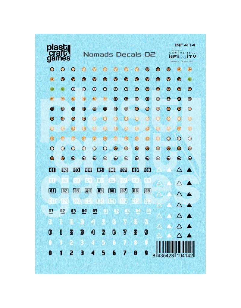 Plastcraft Infinity Decals - Nomads 02