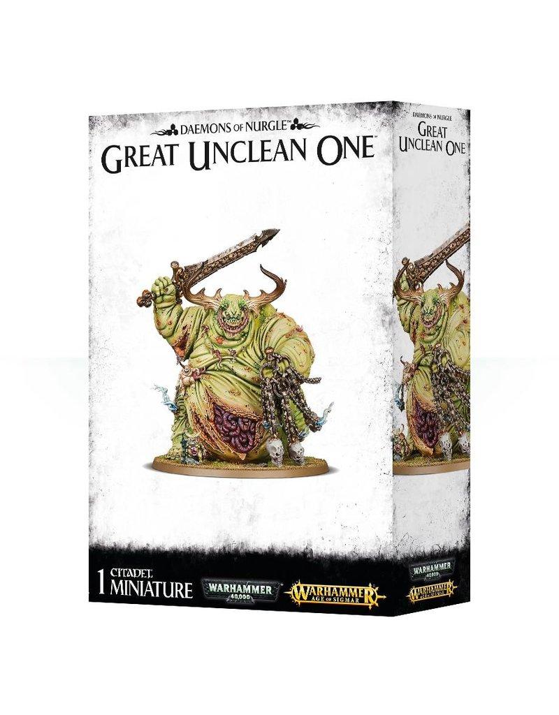 Games Workshop Nurgle Great Unclean One Greater Daemon