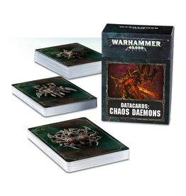Games Workshop Datacards: Chaos Daemons