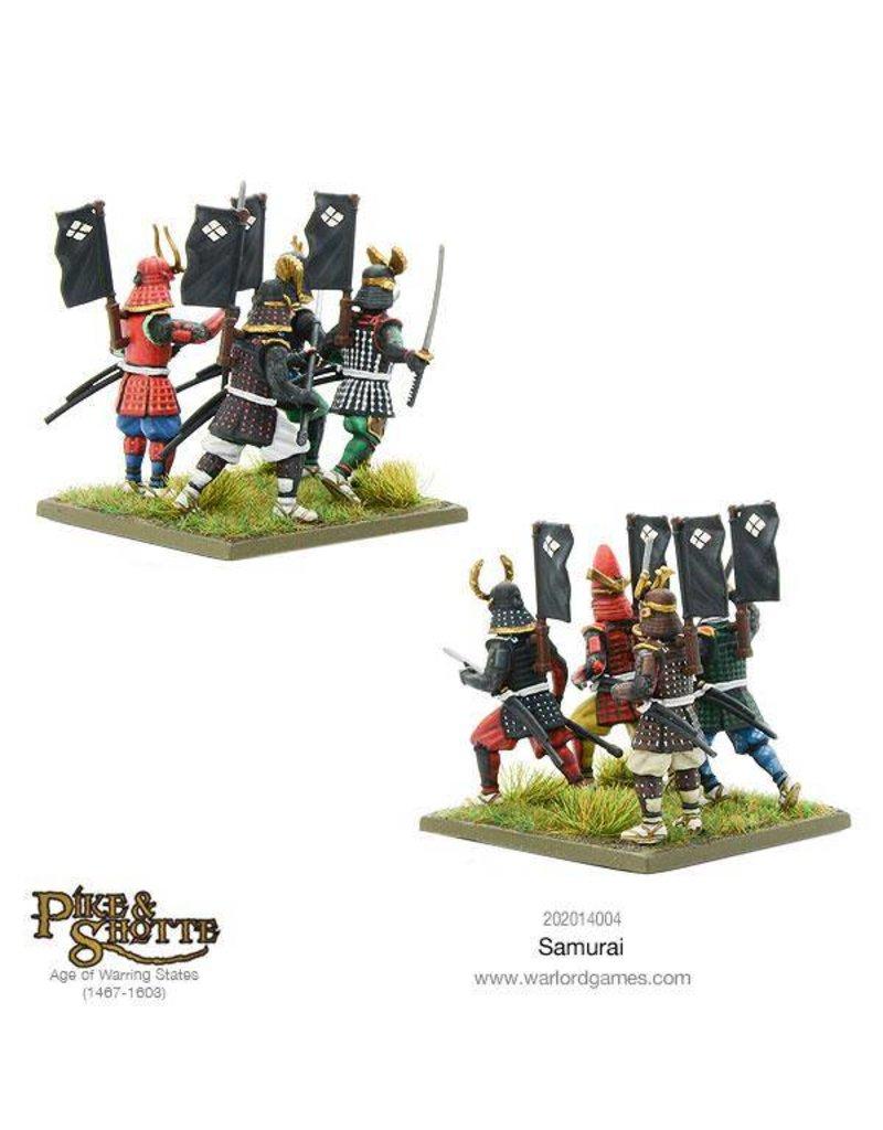 Warlord Games Feudal Japanese Foot Samurai Box Set