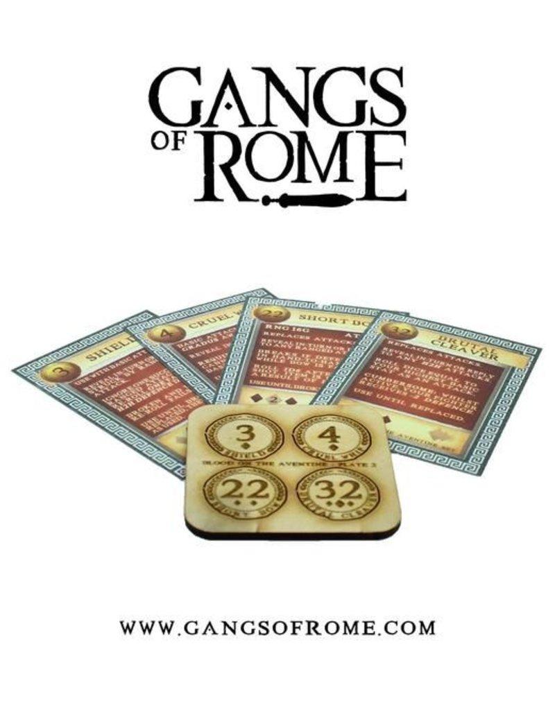 War Banner Gangs Of Rome Fighter Quintus