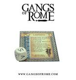 War Banner Gangs Of Rome Fighter Octavus