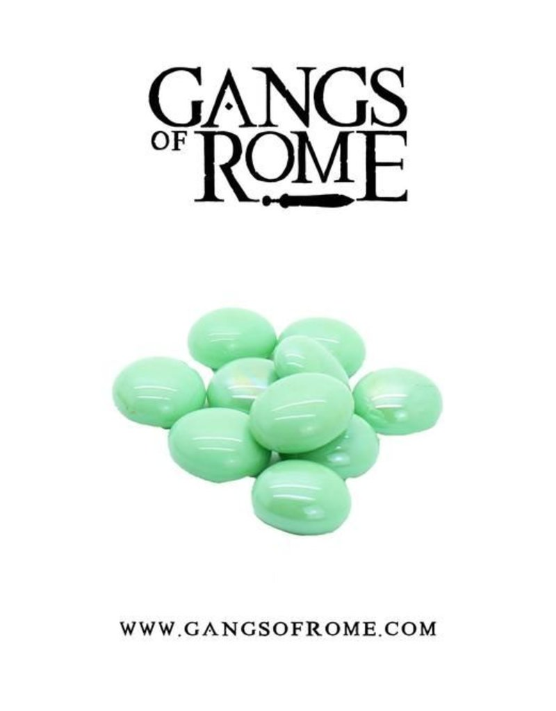 War Banner Gangs Of Rome Green Activation Pebbles (10)