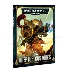 Games Workshop Codex: Adeptus Custodes (HB) (8th)