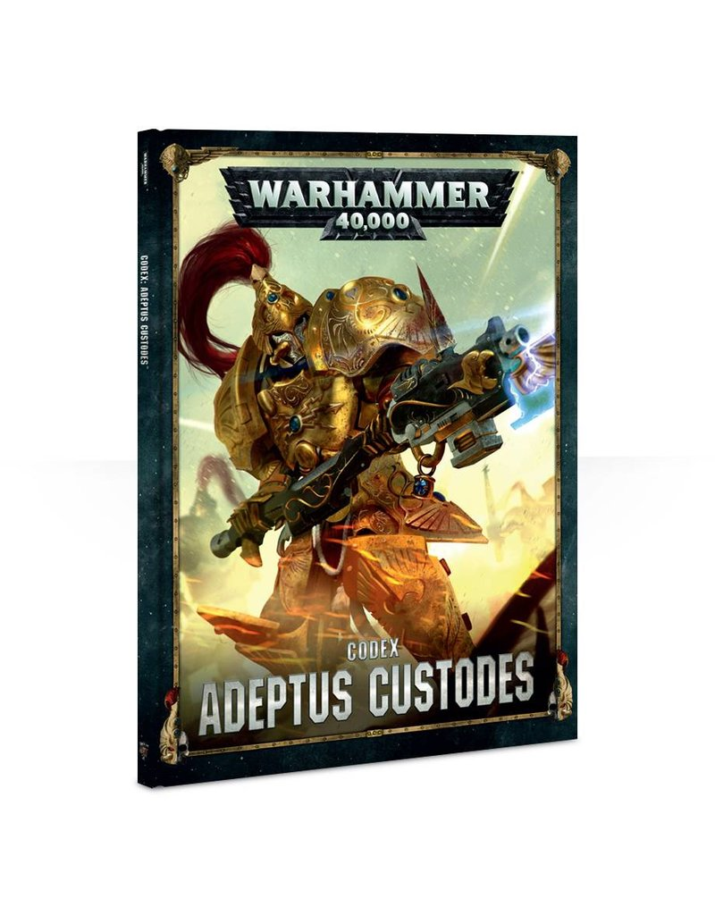 Games Workshop Codex: Adeptus Custodes (HB) (8th Edition)