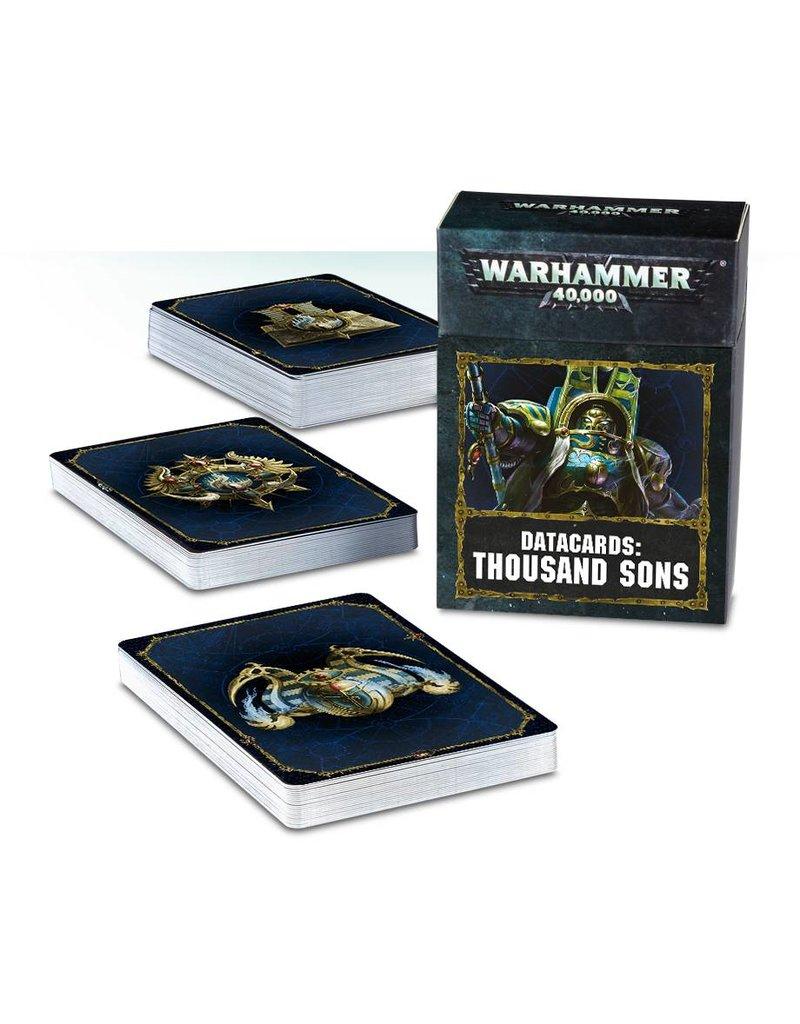 Games Workshop Datacards: Thousand Sons (EN)