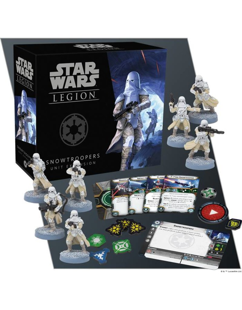 Fantasy Flight Games Star Wars: Legion Snow Troopers Unit Expansion