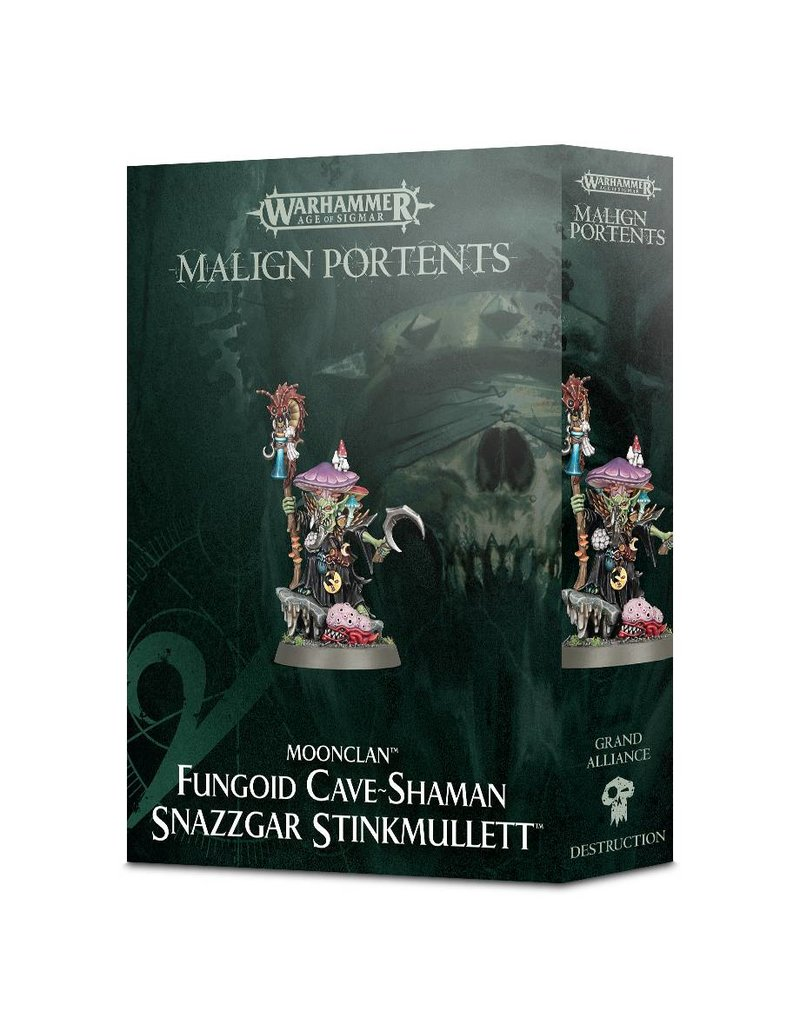 Games Workshop Malign Portents Greenskinz Moonclan Snazzgar Stinkmullett