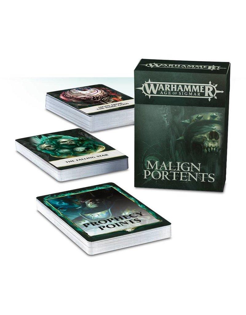Games Workshop Malign Portents Cards Set (EN)