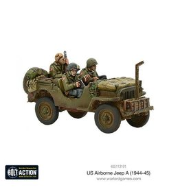Warlord Games US Airborne Jeep (1944-45)