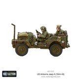 Warlord Games US Army Airborne Jeep (1944-45) Box Set