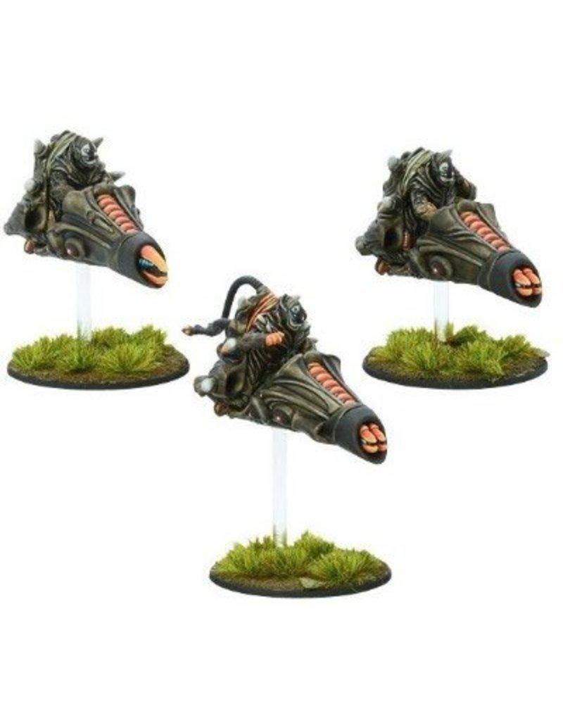 Warlord Games Isorian Pulse Bike Command Squad Box Set