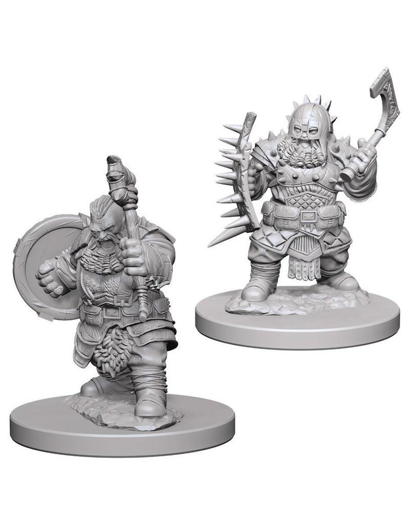 Wizkids Pathfinder Deep Cuts: Dwarf Male Barbarian Blister Pack (Wave 4)