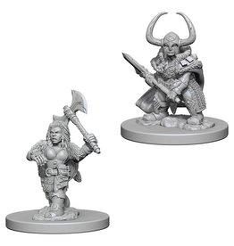 Wizkids Dwarf Female Barbarian (Wave 4)