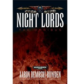 Games Workshop Night Lords: The Omnibus (SB)
