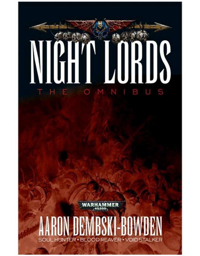 Games Workshop Warhammer 40k: Night Lords: The Omnibus (SB)