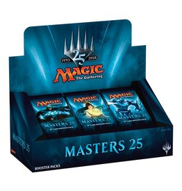 Wizards of the Coast Masters 25 Booster Display