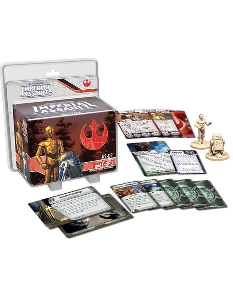 Fantasy Flight Games Star Wars Imperial Assault: R2-D2 and C-3PO Ally Pack