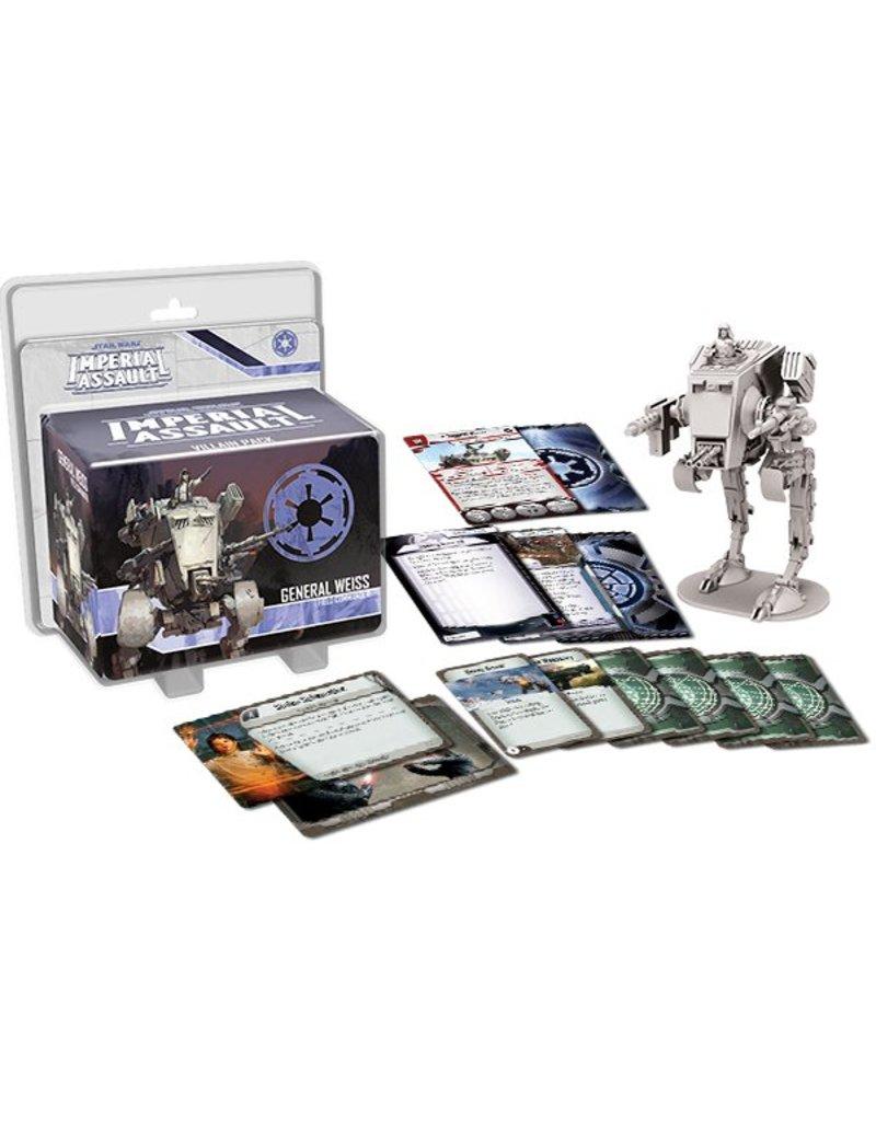 Fantasy Flight Games Star Wars Imperial Assault: General Weiss Villain Pack