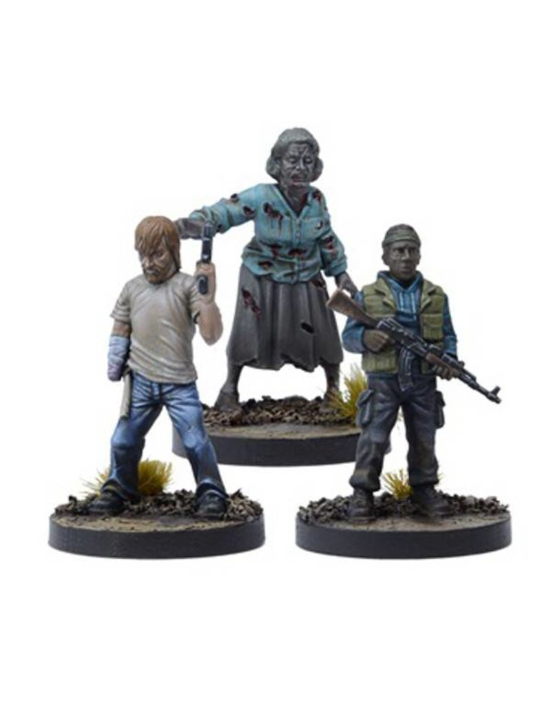 Mantic Games The Walking Dead:  Rick Disfigured, But Determined Booster Pack