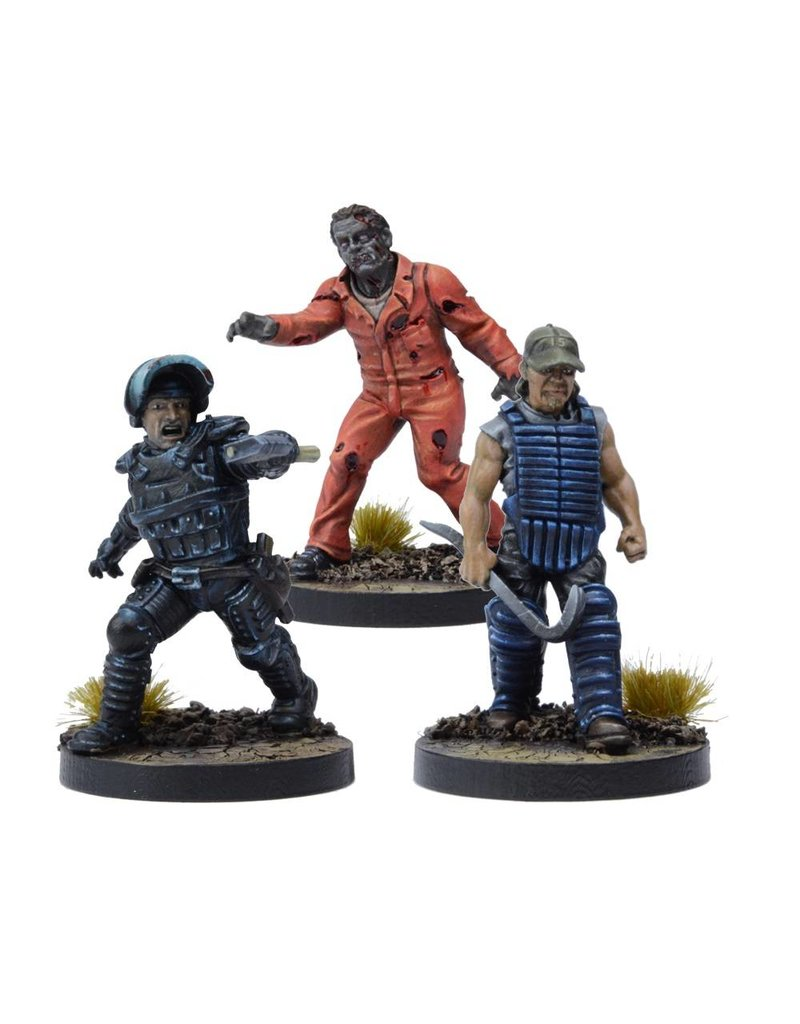 Mantic Games The Walking Dead:  Tyreese, Prison Advisor Booster Pack