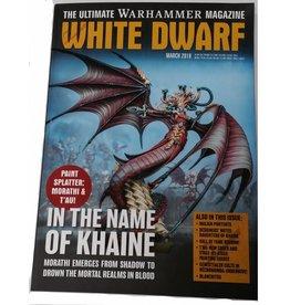 Games Workshop White Dwarf March 2018